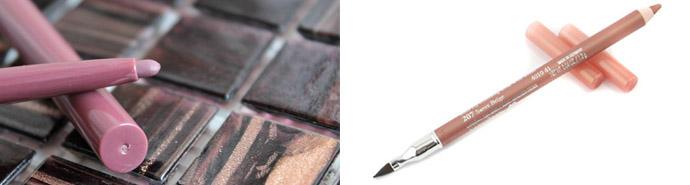 Автоматический и деревянный карандаши