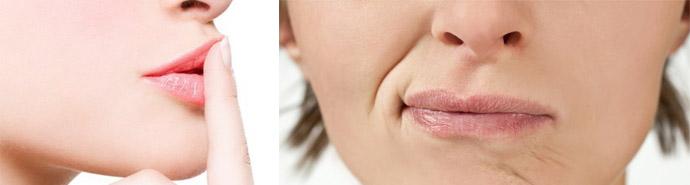 Гимнастика для красивой формы губ
