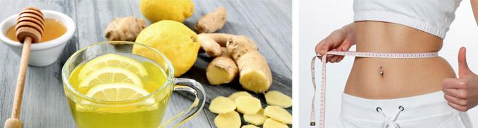 Имбирно-медово-лимонный напиток