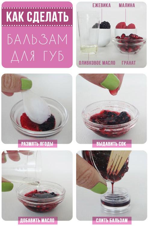 Как сделать вкусную помаду