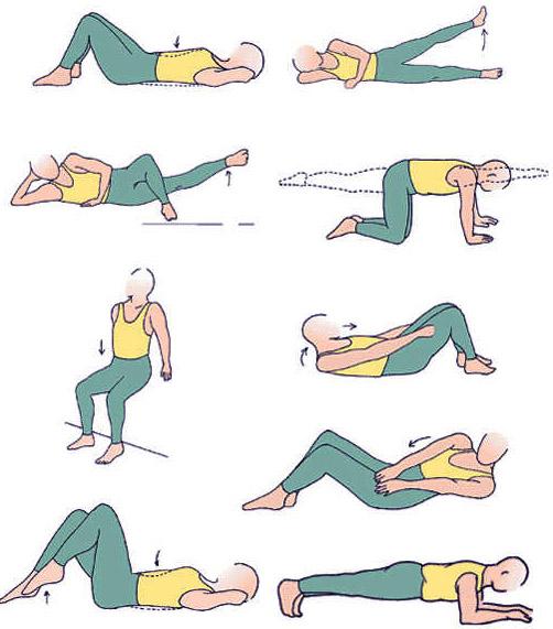 Комплекс эффективных упражнений