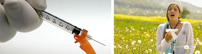 Лечение аллергической реакции