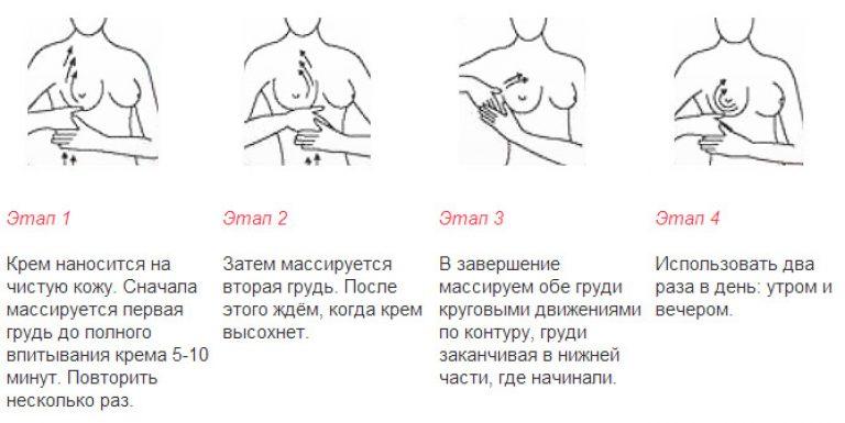 Увеличение грудных желез в домашних условиях массаж 424