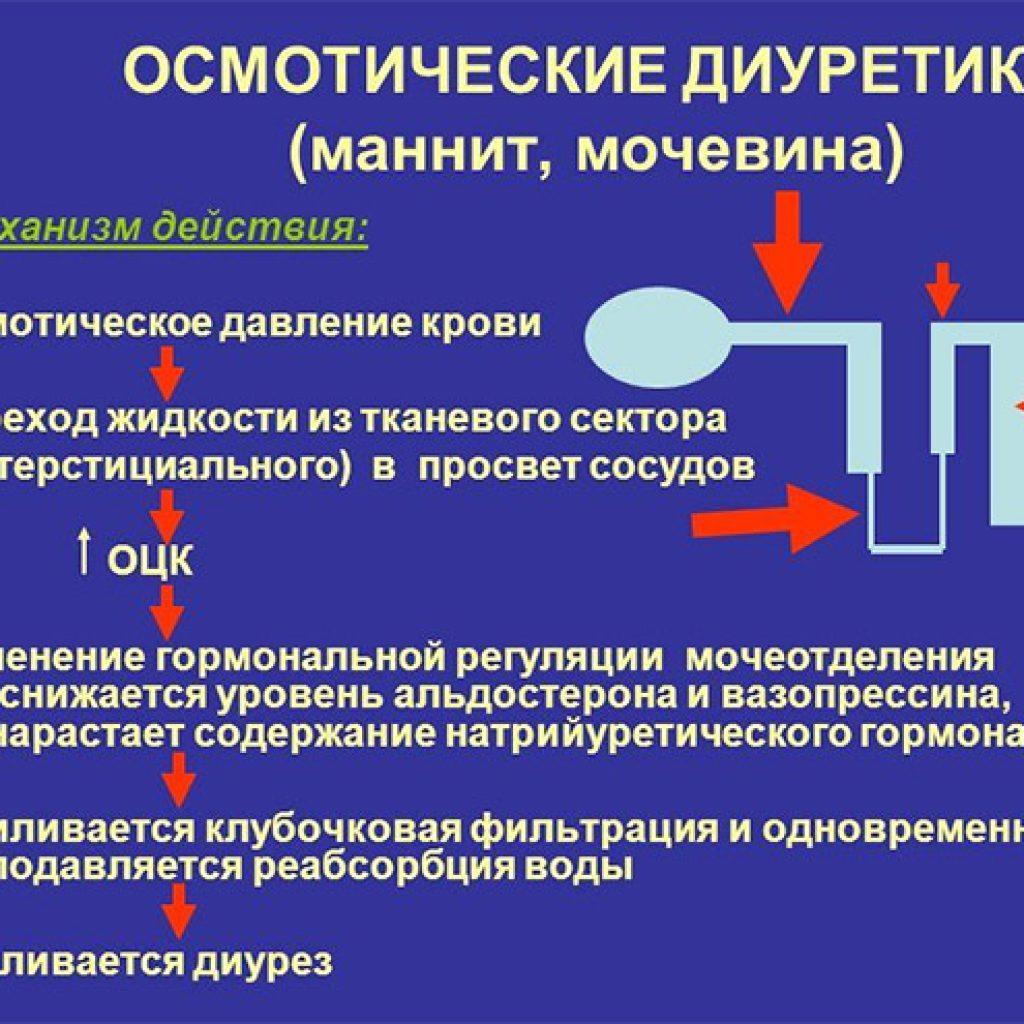 Особенности диуретиков
