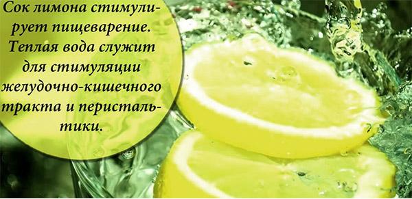 Вода с лимоном как сделать
