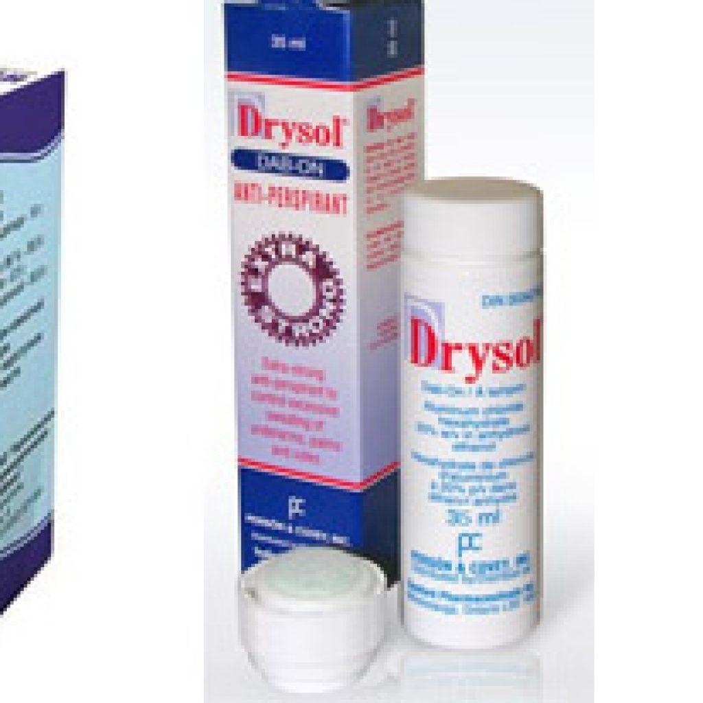 Популярные препараты от гипергидроза