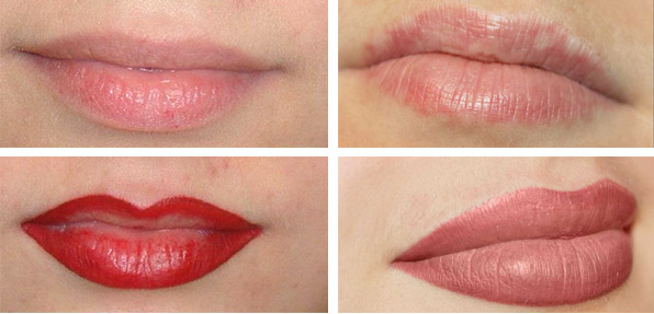 Татуаж губ: отзывы, фото до и после, процесс заживления, последствия