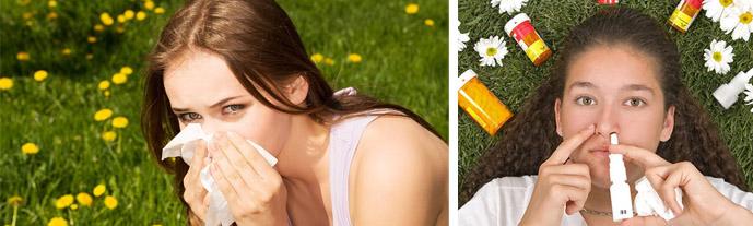 Сезонное обострение аллергии