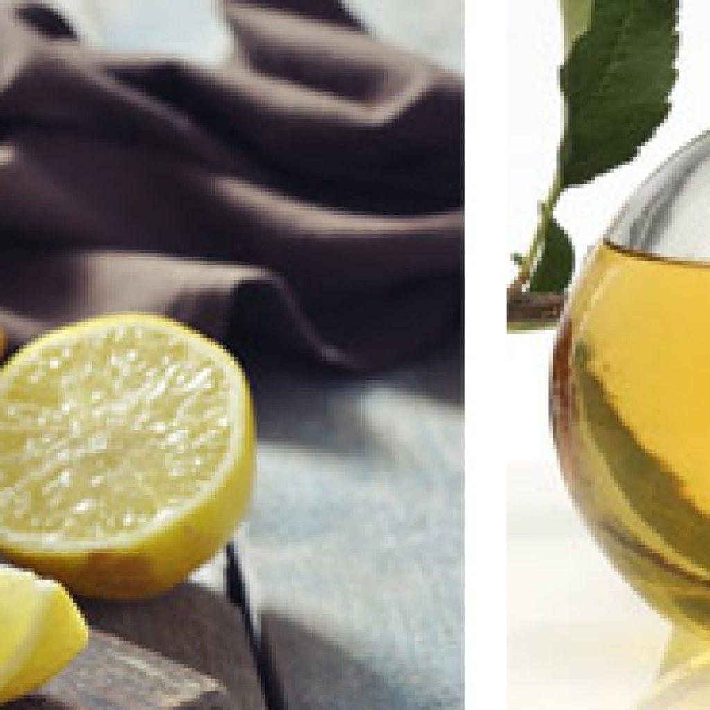 Сок лимона и уксус от гипергидроза