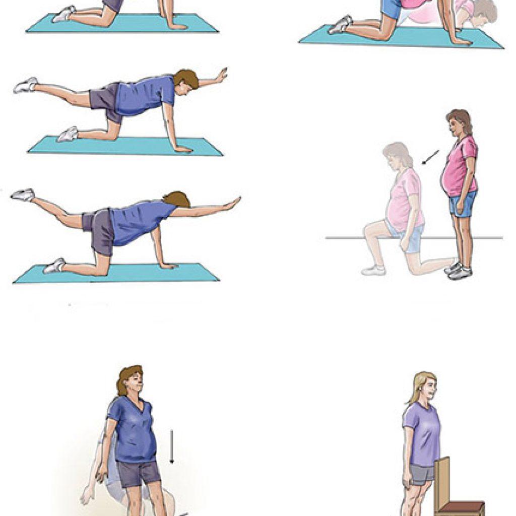 Упражнения для беременнных