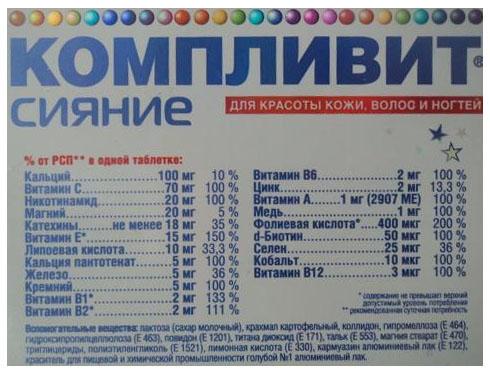 Витамины для роста ногтей в аптеке