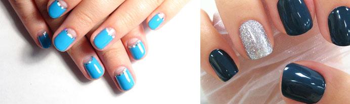 Как накрасить короткие ногти