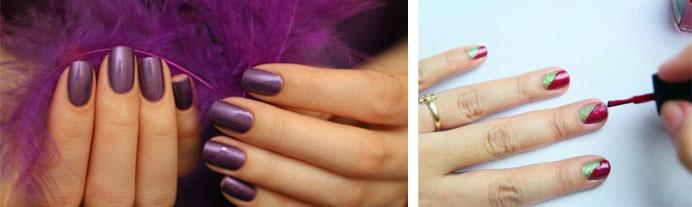 Как самостоятельно красить ногти