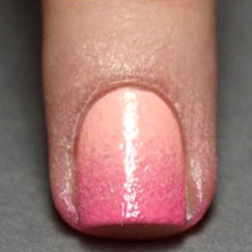 Как сделать маникюр с эффектом градиента на ногтях