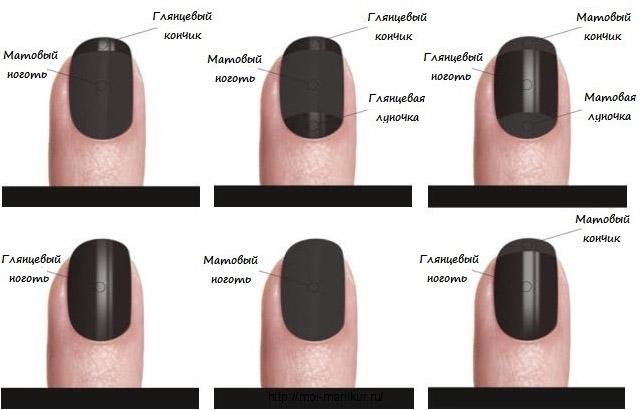 Как сделать матовые ногти гелем