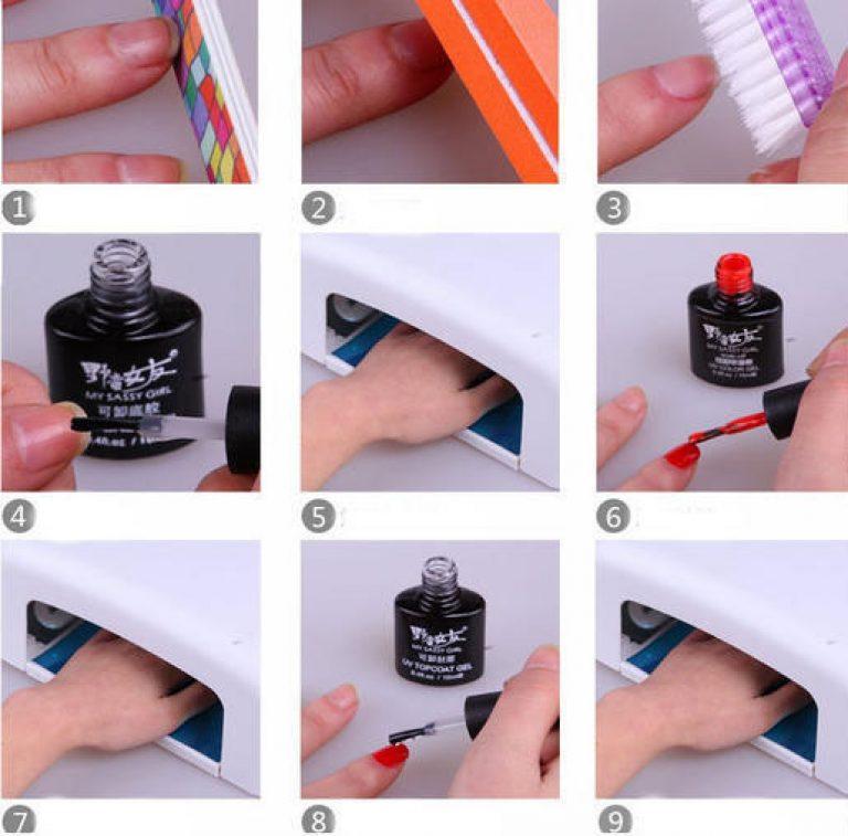 Что нужно чтобы в домашних условиях покрывать ногти гелем