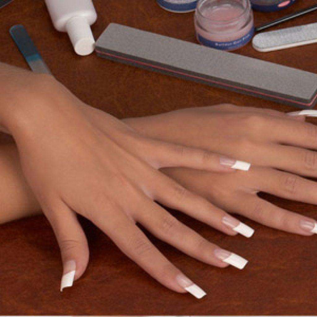 Самостоятельное наращивание ногтей на типсы