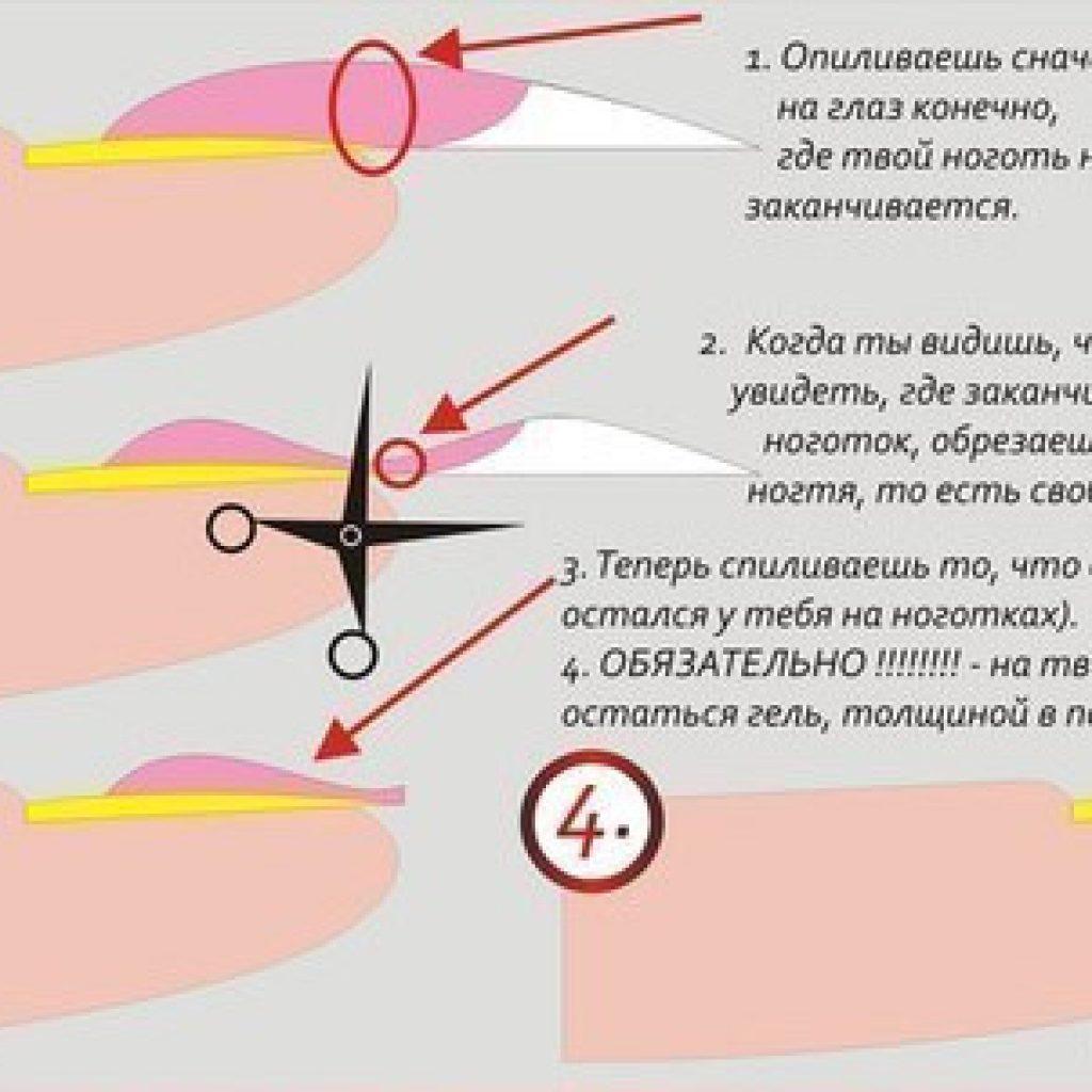 Убираем гелевое покрытие с ногтей